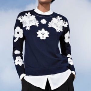 Victoria Beckham for Target Sweatshirt With Lace